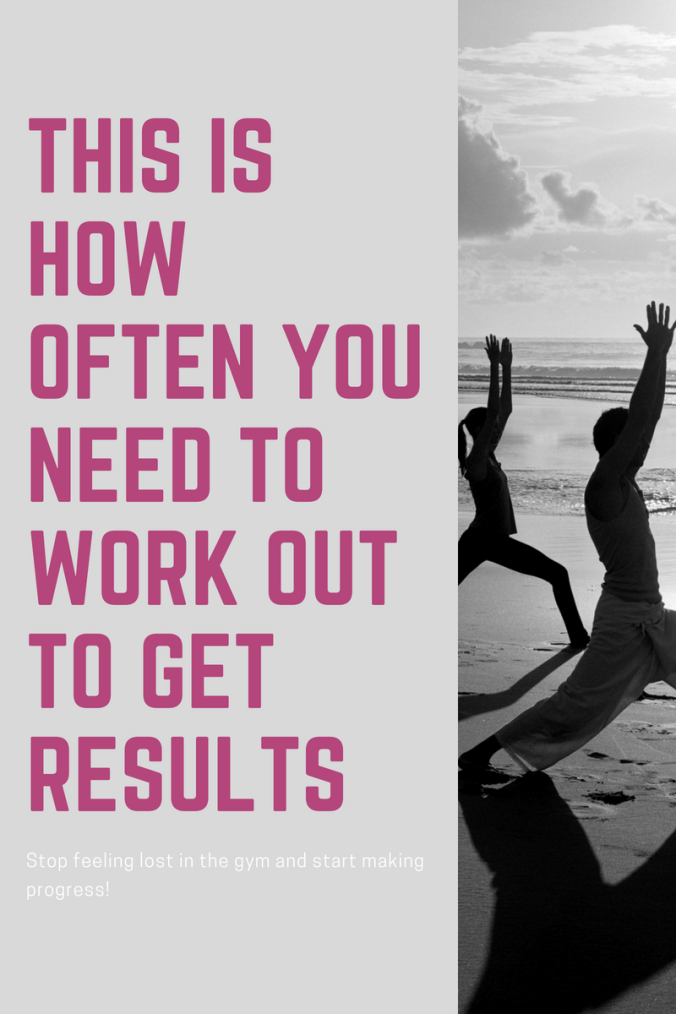 This is How Often You Need to Work Out to Get Results